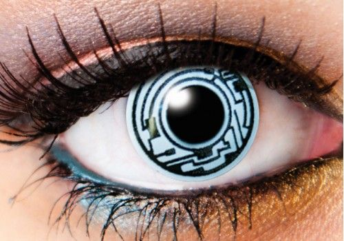 Cyborg Robot Contacts - 1 Day