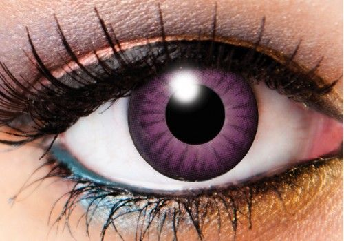 Electro Purple Contacts - 90 Day