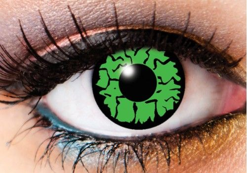 Green Hulk Creature Contacts - 90 Day