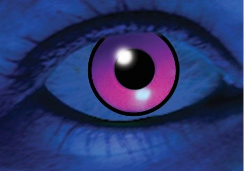 UV Purple Contacts - 90 Day